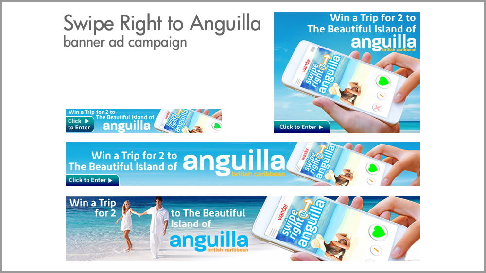 Swipe Right to Anguilla Campaign